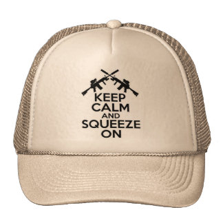 Keep Calm and Squeeze On Cap
