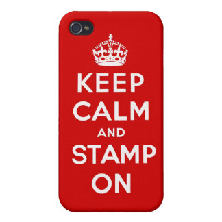 Keep Calm and Stamp On Iphone Case iPhone 4/4S Case
