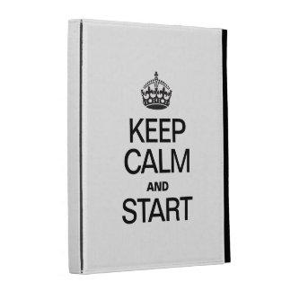 KEEP CALM AND STARE iPad FOLIO COVER