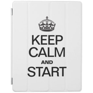 KEEP CALM AND STARE iPad COVER
