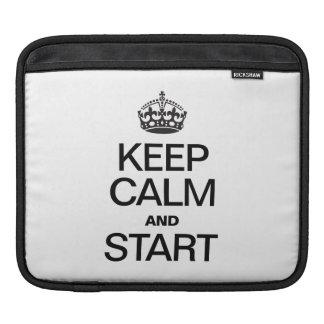 KEEP CALM AND STARE iPad SLEEVE