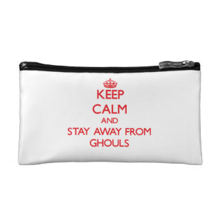 Keep calm and stay away from Ghouls Cosmetics Bags