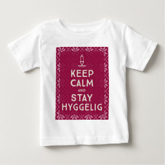 Keep Calm and Stay Hyggelig Baby T-Shirt