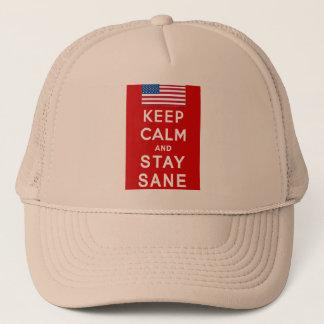 KEEP CALM AND STAY SANE Tshirts Trucker Hat