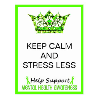 KEEP CALM AND STRESS LESS Postcards