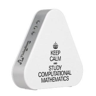 KEEP CALM AND STUDY COMPUTATIONAL MATHEMATICS SPEAKER