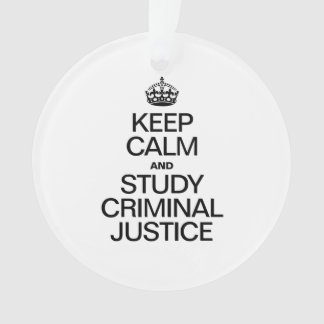 KEEP CALM AND STUDY CRIMINAL JUSTICE
