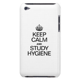 KEEP CALM AND STUDY HYDIENE BARELY THERE iPod CASE