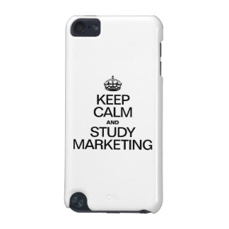 KEEP CALM AND STUDY MARKETING iPod TOUCH 5G COVERS