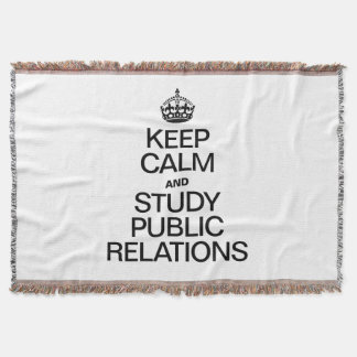 KEEP CALM AND STUDY PUBLIC RELATIONS