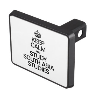 KEEP CALM AND STUDY SOUTH ASIA STUDIES TRAILER HITCH COVER