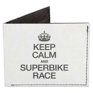 KEEP CALM AND SUPERBIKE RACE
