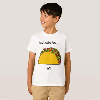 Keep Calm and Taco On shirt (size:XS)