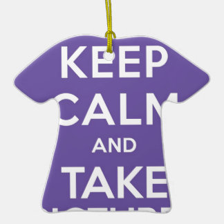 Keep Calm And Take Pictures Ornament