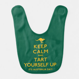 Keep Calm and Tart Yourself Up! Bib