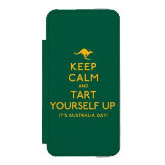 Keep Calm and Tart Yourself Up! Incipio Watson™ iPhone 5 Wallet Case