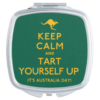 Keep Calm and Tart Yourself Up! Vanity Mirrors