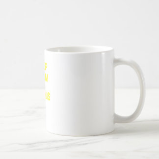 Keep Calm and Tennis It Coffee Mug
