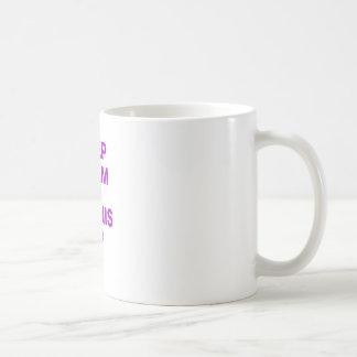 Keep Calm and Tennis Up Mug