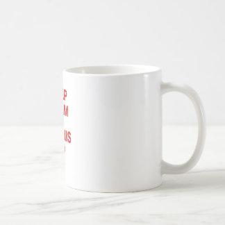 Keep Calm and Tennis Up Coffee Mugs