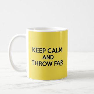 Keep Calm and Throw Far, Shot Put Mug Gift