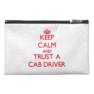 Keep Calm and Trust a Cab Driver Travel Accessory Bag