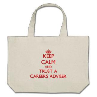 Keep Calm and Trust a Careers Adviser Tote Bag