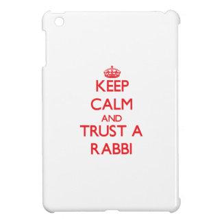 Keep Calm and Trust a Rabbi Case For The iPad Mini