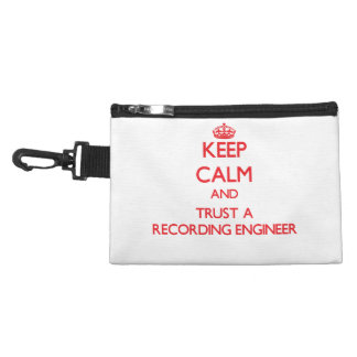 Keep Calm and Trust a Recording Engineer Accessory Bags