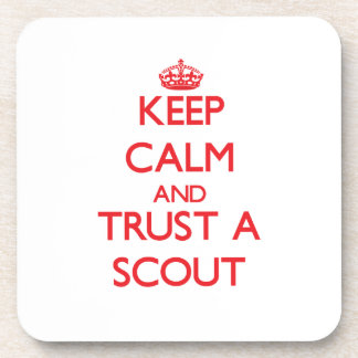 Keep Calm and Trust a Scout Coasters