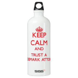 Keep Calm and Trust a Trademark Attorney SIGG Traveller 1.0L Water Bottle
