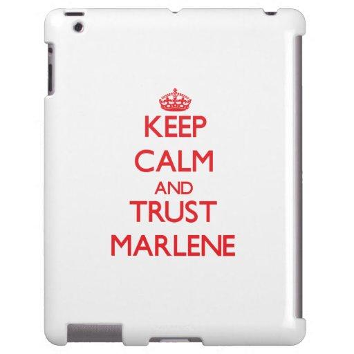Keep Calm and TRUST Marlene