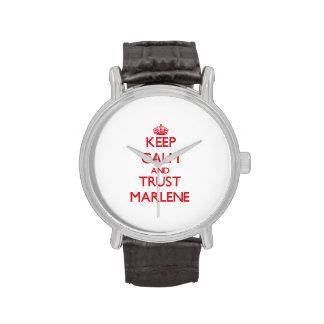 Keep Calm and TRUST Marlene Watch