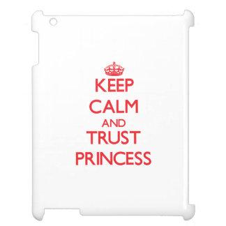 Keep Calm and TRUST Princess iPad Case