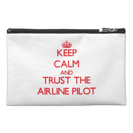 Keep Calm and Trust the Airline Travel Accessory Bags