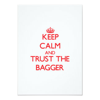 Keep Calm and Trust the Bagger Cards