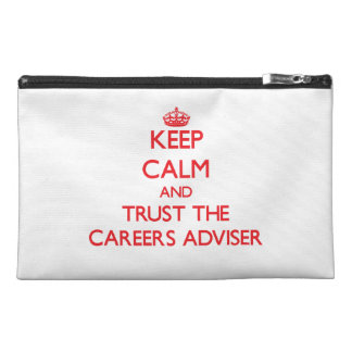 Keep Calm and Trust the Careers Adviser Travel Accessories Bags
