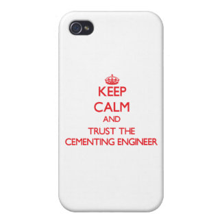 Keep Calm and Trust the Cementing Engineer iPhone 4/4S Cover