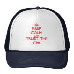 Keep Calm and Trust the Cpa Cap
