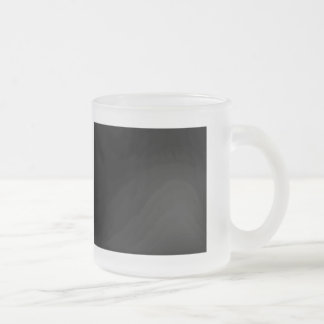 Keep Calm and Trust the Governor Frosted Glass Mug