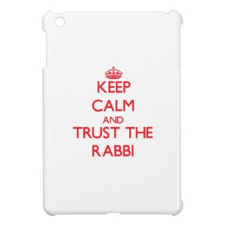 Keep Calm and Trust the Rabbi iPad Mini Cover