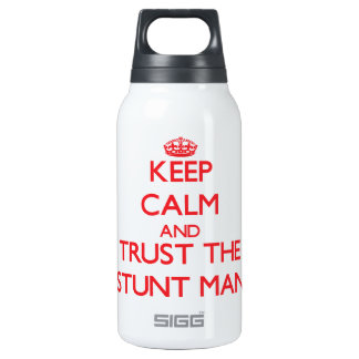 Keep Calm and Trust the Stunt Man 0.3 Litre Insulated SIGG Thermos Water Bottle