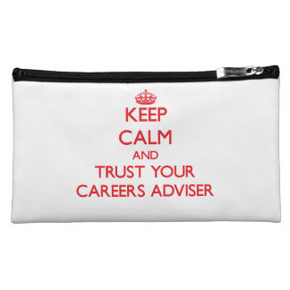 Keep Calm and trust your Careers Adviser Makeup Bag