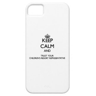 Keep Calm and Trust Your Children's Resort Represe iPhone 5 Case