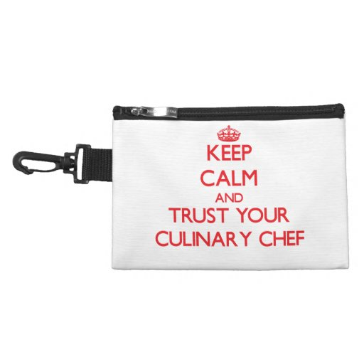 Keep Calm and trust your Culinary Chef Accessory Bag