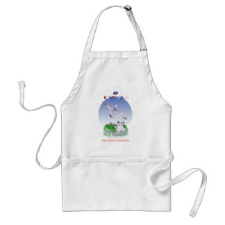 keep calm and trust your mates, tony fernandes standard apron