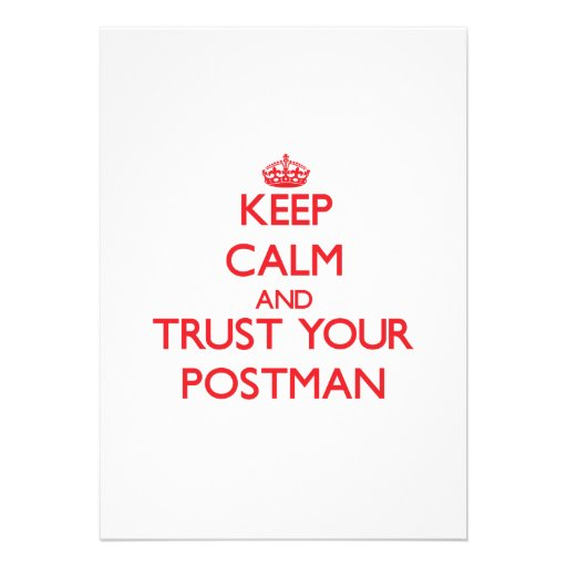 Keep Calm and trust your Postman Custom Invite