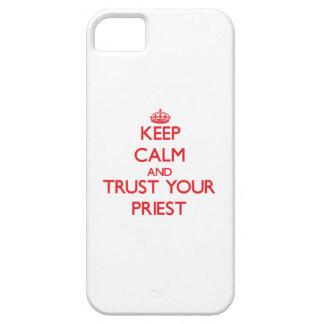 Keep Calm and trust your Priest iPhone 5/5S Cases