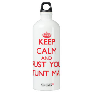 Keep Calm and trust your Stunt Man SIGG Traveller 1.0L Water Bottle