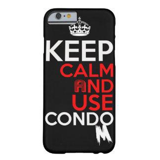 keep calm and use condom case